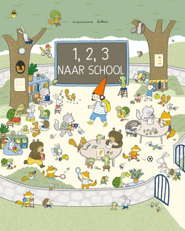 1,2,3 naar school