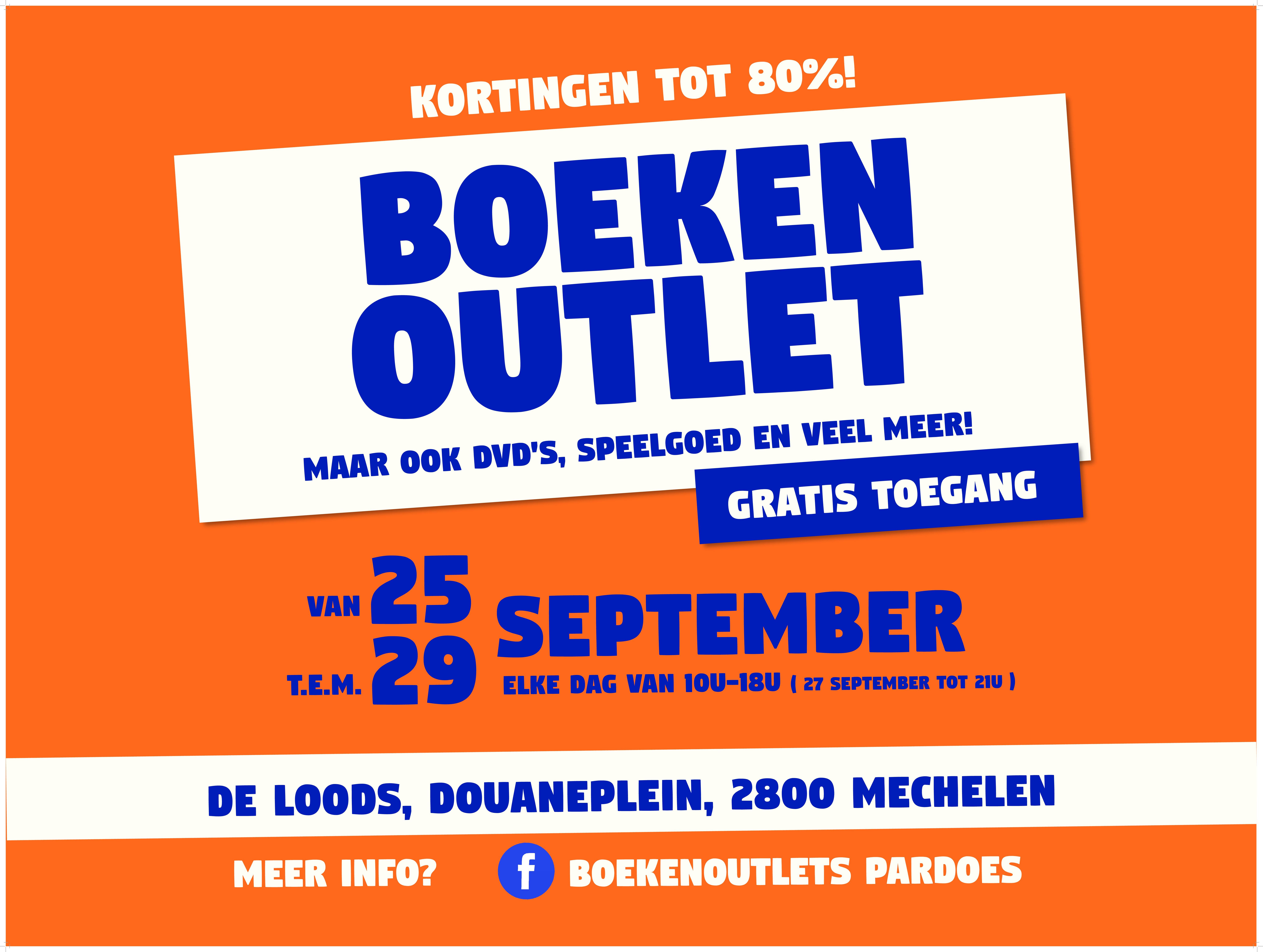 Boekenoutlet in Mechelen