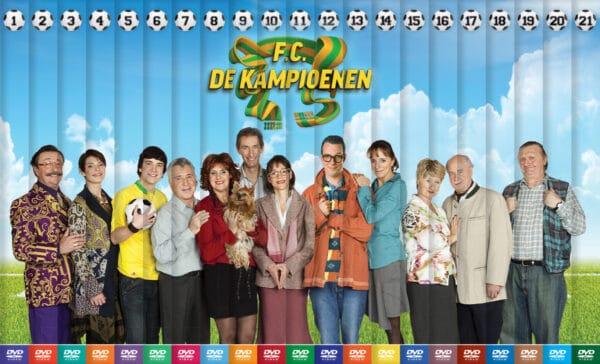 21 DVD's De Kampioenen