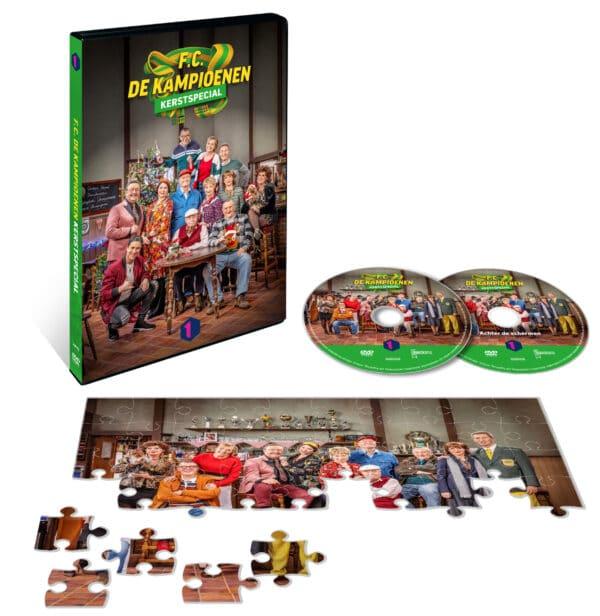 Inhoud DVD-box kerstspecial De Kampioenen
