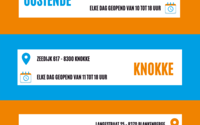 BOEKENOUTLET POP-UPS AAN ZEE