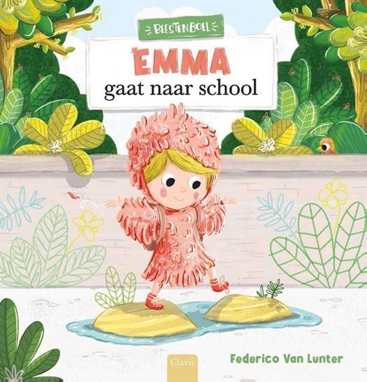 emma gaat naar school